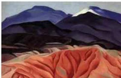 Black Mesa Landscape, Outside of Marie's by Georgia O'Keeffe