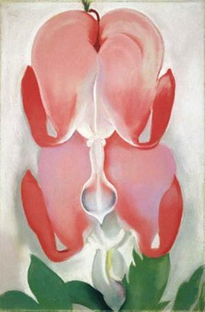Bleeding Hearts by Georgia O'Keeffe