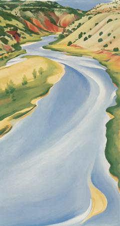 Blue River by Georgia O'Keeffe