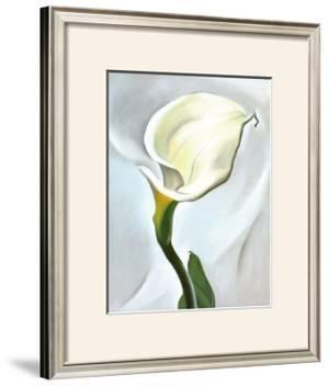Calla Lily Turned Away, 1923 by Georgia O'Keeffe