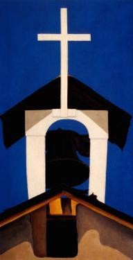 Church Steeple by Georgia O'Keeffe
