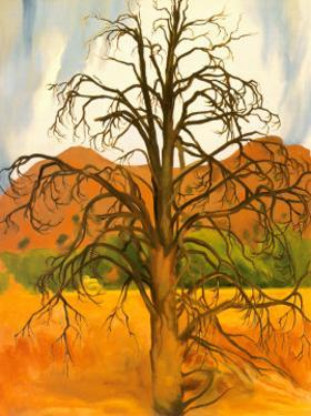 Dead Pinon Tree by Georgia O'Keeffe