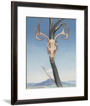 Deer's Skull with Pedernal by Georgia O'Keeffe