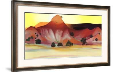 Hills and Mesa by Georgia O'Keeffe