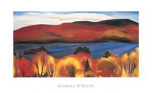 Lake George, Autumn, 1927 by Georgia O'Keeffe