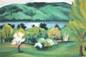 Lake George Early Spring by Georgia O'Keeffe