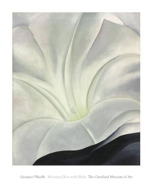 Morning Glory with Black, 1926 by Georgia O'Keeffe