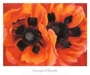 Oriental Poppies, 1928 by Georgia O'Keeffe