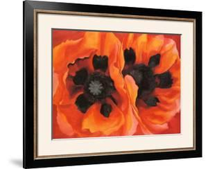 Oriental Poppies, 1928 by Georgia O'Keeffe