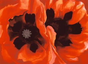 Oriental Poppies, c.1928 by Georgia O'Keeffe