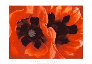Oriental Poppies, c.1928 by Georgia O'Keeffe