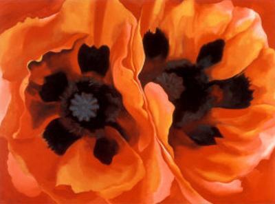 Oriental Poppies by Georgia O'Keeffe
