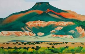 Pedernal 1941 by Georgia O'Keeffe