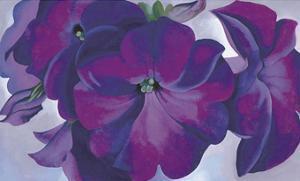 Petunias, c.1925 by Georgia O'Keeffe