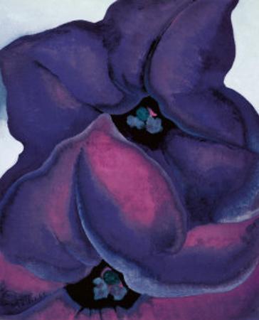 Purple Petunias, 1925 by Georgia O'Keeffe
