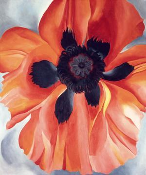 Red Poppy, No. VI, 1928 by Georgia O'Keeffe