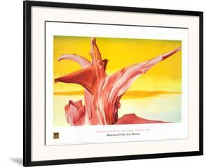 Red Tree, Yellow Sky by Georgia O'Keeffe