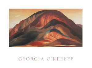 Rust Red Hills by Georgia O'Keeffe