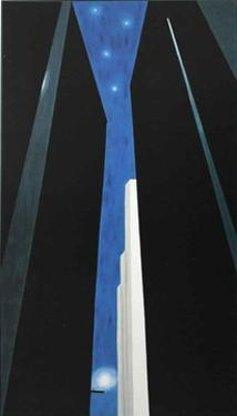 Untitled City Night by Georgia O'Keeffe