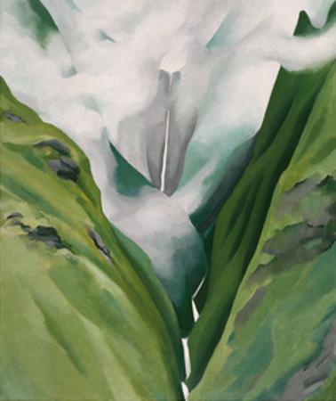 Waterfall No. 3, 'Iao Valley by Georgia O'Keeffe