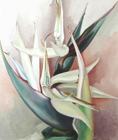 White Bird Of Paradise by Georgia O'Keeffe