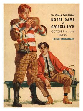 Georgia Tech vs. Notre Dame, 1938