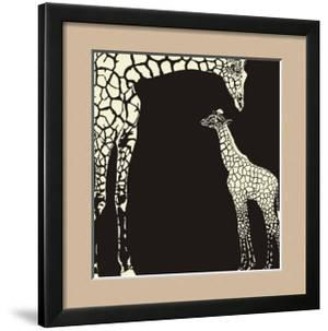 Inverse Giraffe Animal Camouflage by Gepard