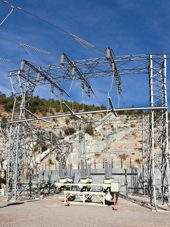Caribou Powerhouse and Transmission Hydroelectric Equipment on the North Fork of the Feather River by Gerald & Buff Corsi