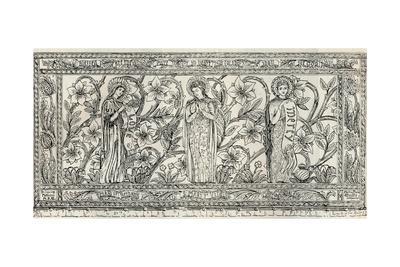 'White Memorial Altar Cloth, Parish Church, Cheddleton', c1891
