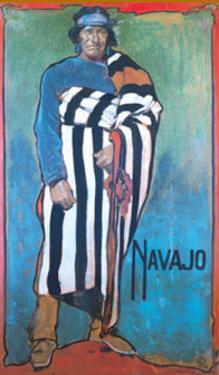 Navajo by Gerald Cassidy
