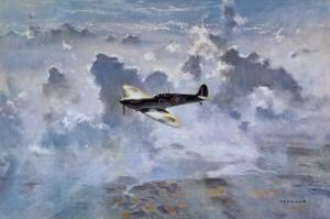 Lone Spitfire by Gerald Coulson