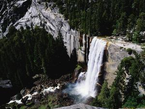 View from the Top of Vernal Falls by Gerald French