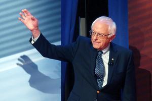 DEM 2016 Clinton Sanders by Gerald Herbert