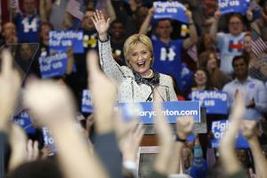 DEM 2016 Clinton by Gerald Herbert