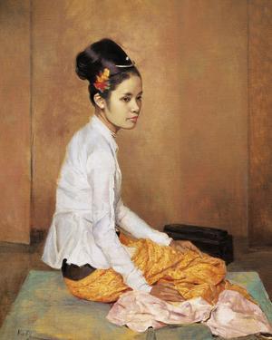 Burmese Pearl by Gerald Kelly