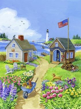 Boathouse Cove by Geraldine Aikman
