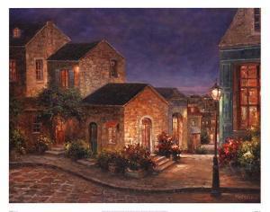 Lyon at Night by Geraldine Girvan