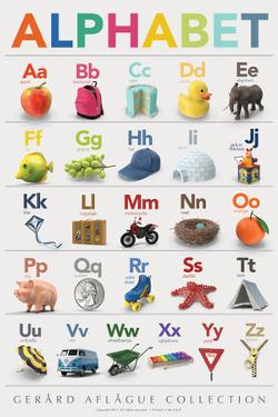 Alphabet by Gerard Aflague Collection