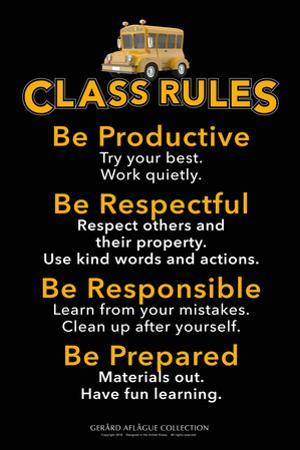 Class Rules by Gerard Aflague Collection