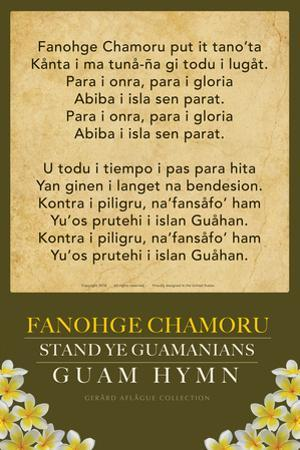 Fanohge Chamoru (Guam Hymn) by Gerard Aflague Collection