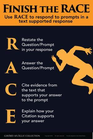 Finish the RACE - Responding to Prompts by Gerard Aflague Collection