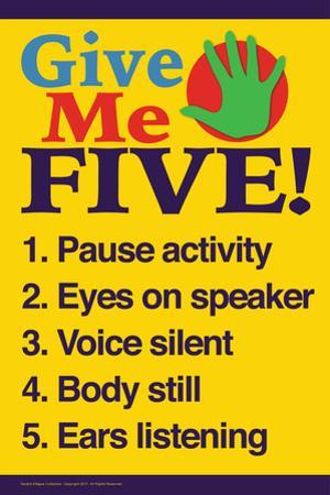Give Me Five by Gerard Aflague Collection