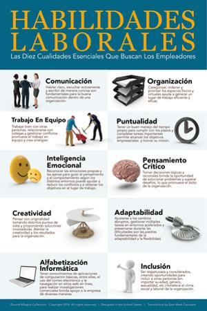 Habilidades Laborales - Job Skills in Spanish by Gerard Aflague Collection