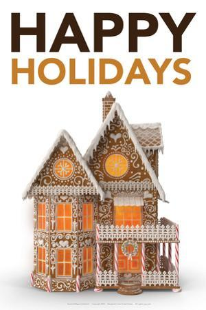 Happy Holidays Gingerbread by Gerard Aflague Collection