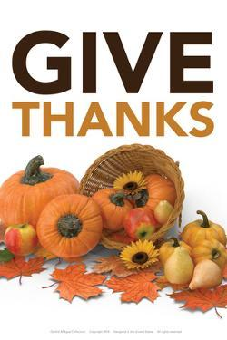 Happy Thanksgiving by Gerard Aflague Collection