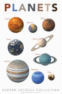 Planets by Gerard Aflague Collection