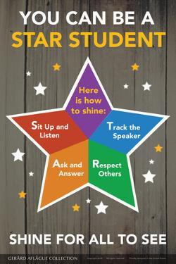 STAR Student - Shine for All to See by Gerard Aflague Collection