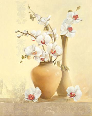 Les Vases D'Orchidées by Gerard Beauvoir