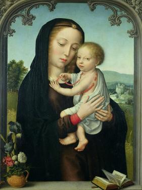 Virgin and Child by Gerard David