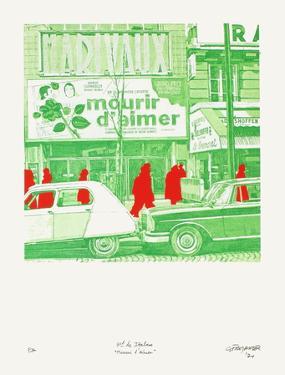 Boulevard Des ItaIIens : Mourir D'Aimer by Gérard Fromanger